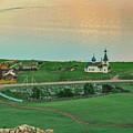 Baikal And The Village by Aleksei Musikhin
