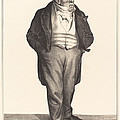 Baillot by Honor? Daumier