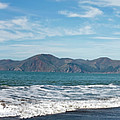 Baker Beach Panorama by Noel Baebler