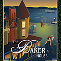 Baker House Endless Sunset by Leslie Alfred McGrath