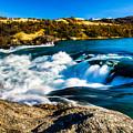 Baker River Waterfall by Walt Sterneman
