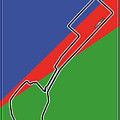 Baku Race Track by Theodor Decker