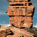 Balanced Rock At Garden Of The Gods by Jennifer Mitchell