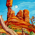 Balanced Rock by Diane Bay