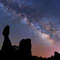 Balanced Rock Milky Way by Darren White