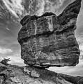 Balanced Rock Monochrome by Darren White