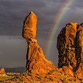 Balanced Rock Storm Anp by Susan Candelario