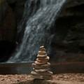 Balanced Stones Waterfall by Dan Sproul