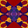 Balancing Affections Abstract Bliss Art By Omashte by Omaste Witkowski