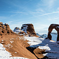 Delicate Arch Wide by Robert VanDerWal