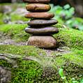 Balancing Zen Stones IIi by Marco Oliveira