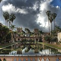 Balboa Park Fountain by Jane Linders