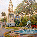 Balboa Park Tower by Miguel A Chavez