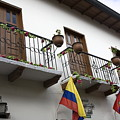 Balconies And Flags by Sally Weigand