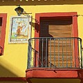 Spanish Balcony by John Hughes