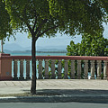Balcony On The Beach In Naguabo  Puerto Rico by Tito Santiago