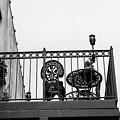 Balcony Table by Robert Wilder Jr