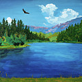 Bald Eagle At Hume Lake - Psalm 103 Verse 5 by Charles and Stacey Matthews
