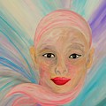 Bald Is Beauty With Brown Eyes by Eloise Schneider Mote