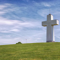 Bald Knob Cross Of Peace by Susan Rissi Tregoning