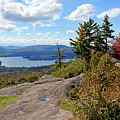 Bald Mountain Autumn Panorama by David Patterson