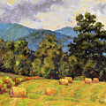 Bales Of August by Keith Burgess