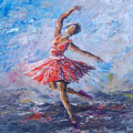 Ballet Dancer by Anthony Mwangi