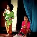 Bali Children by Willem Van Cleef