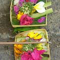 Balinese Offering Baskets by Mark Sellers