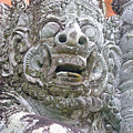 Balinese Temple Guardian by Mark Sellers