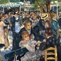 Ball At The Moulin De La Galette 1876 by Renoir PierreAuguste
