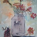 Ball Jar Vase by Edward Wolverton