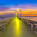 Ballast Point Sunrise - Tampa, Florida by Lance Raab