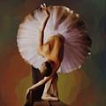 Ballerina Art 0421 by Gull G