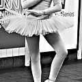 Ballerina B W by Rob Hans
