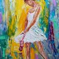 Ballerina Before The Dance by Karen Tarlton