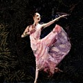 Ballerina Dancing Expressive by Humphrey Isselt