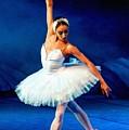 Ballerina On Stage L A Nv by Gert J Rheeders