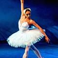Ballerina On Stage L B by Gert J Rheeders
