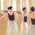 Ballerinas Waiting by Margaret Aycock