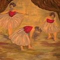 Ballerinas With Blue Hair by Kimberly Hill
