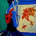 Ballerine En Automne by Rusty Gladdish