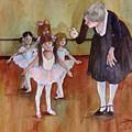 Ballet Class by Sherri Crabtree