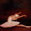 Ballet Dancer In White  by Gull G