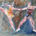 Ballet Dancers Heart by Edward Wolverton