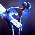 Ballet In Blue by L Lauter