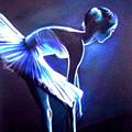 Ballet In Blue by L Lauter
