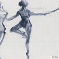 Ballet Sketch Passe En Pointe by Beverly Brown