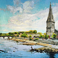 Ballina On The Moy 11 by Conor McGuire