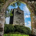 Ballinalacken Castle In County Clare, Ireland by James Truett